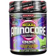 [iHerb] ALLMAX Nutrition, AMINOCORE, BCAA, 8G BCAAs, 100% Pure 45:30:25 Ratio, Gluten Free, Key Lime Cherry, 1 lbs (462 g)