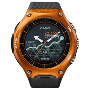 Casio WSD-F10 Android Wear 智能手錶 橙色