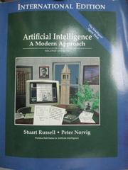 【書寶二手書T2/大學社科_XGN】Artificial Intelligence: A Modern Approach