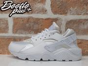 女生 BEETLE NIKE AIR HUARACHE RUN PRM 全白 白武士 慢跑鞋 634835-106