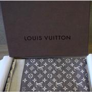 LV M71378 Monogram DENIM 披巾(鐵灰)