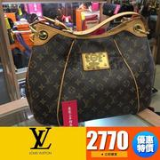 80代購LOUIS VUITTON LV GALLIERA  字紋中款肩背包南瓜包 M56382 XC1299