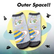 【Outer Space】星球短襪(3入)
