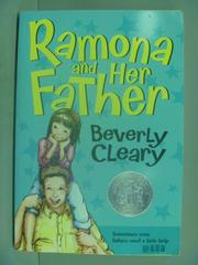 【書寶二手書T1/原文小說_IFC】Ramona and her father_CLEARY, BEVERLY