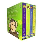 【瑋恩書店】Thats not my wildlife animals collection 4 books box set(野生動物觸摸硬頁套書)