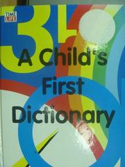 【書寶二手書T8/字典_ZKW】A Child's First Dictionary