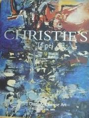 【書寶二手書T8/收藏_YIO】Christies_2000/4/23_20th Century..Art