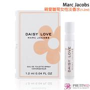 Marc Jacobs Daisy Love 親愛雛菊女性淡香水 EDT (1.2ml)【美麗購】