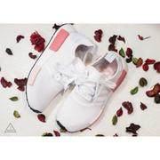 ISNEAKERS Adidas Nmd R1_W White Rose 桃粉 白粉 玫瑰 國外貨 BY9952