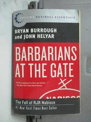 【書寶二手書T8/原文書_NSW】Barbarians at the Gate_Burrough