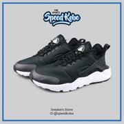 ☆SP☆ NIKE WMNS AIR HUARACHE RUN ULTRA 黑白 網布 慢跑鞋 女 819151-008