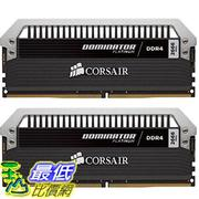 [美國直購] Corsair 海盜船 Dominator Platinum Series 16GB (2 x 8GB) DDR4 DRAM 3200MHz (PC4-25600) C16 Memory Kit