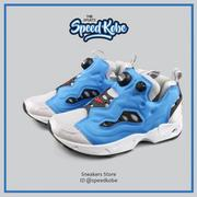 七折Reebok Insta pump Fury Road 藍灰黑 男女 原版 OG V66584
