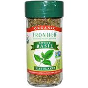 [iHerb] Frontier Natural Products, 有機,甜羅勒,葉片,0.56盎司(16克)