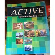 《Active Skills for Reading Book 3》ISBN:0838426115│Heinle & Heinle│Neil J. Anderson│九成新