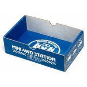 TAMIYA 田宮四驅車 95207 限定版 BASIC MINI 4WD CAR BOX 驗車盒 藍色