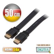 DIGITUS HDMI CABLE平板線0.5公尺type A