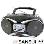 山水SANSUI CD/MP3/USB/SD/AUX手提式音響(SB-88N)