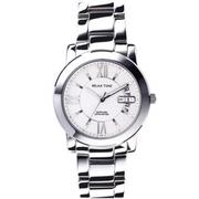 【RELAX TIME】RELAX TIME RT-36-1M 三針日期銀x白腕錶 38mm(RT-36-1M)