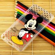 【Disney】Samsung Galaxy Note 3 (N9000) 彩繪透明保護軟套