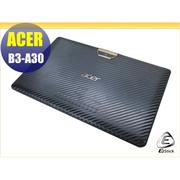 【Ezstick】ACER Iconia One 10 B3-A30 Carbon立體紋機身貼(平板機身背貼)DIY包膜