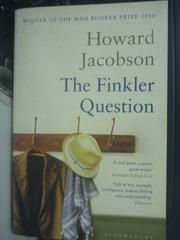 【書寶二手書T4/原文小說_WFJ】The Finkler Question_Howard Jacobson