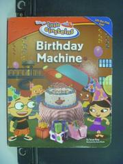 【書寶二手書T8/少年童書_NQL】Birthday Machine_Disney's_Ring