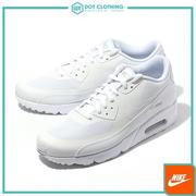 DOT聚點 NIKE AIR MAX 90 ULTRA 2.0 ESSENTIAL 全白 慢跑 男 875695-101
