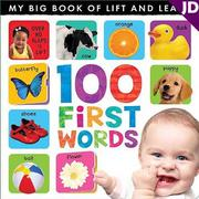 【英國Caterpillar原文童書】My Lift-the-flap 100 First Words 翻翻書