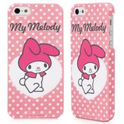 GARMMA My Melody for iPhone 5/5s/SE 保護殼 - 點點粉