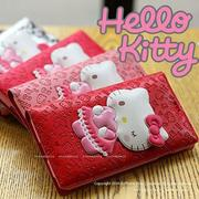 韓國 Hello Kitty 吸盤皮套 手機殼│S6 Edge Plus S7 S8 Note│b4188