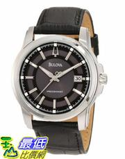 [美國直購 USAShop] Bulova Men's 96B158 Precisionist Leather Strap 手錶 $9019