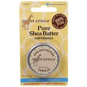 [iHerb] [iHerb] Out of Africa Pure Shea Butter with Vitamin E, Vanilla, 0.5 oz (14.2 g)