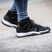 KS▸女鞋 NIKE AIR JORDAN 11 RETRO HEIRESS 黑金 珍珠 魔鬼魚【852625-030】