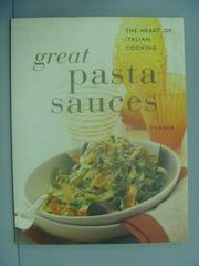 【書寶二手書T7/餐飲_ZGL】Great Pasta Sauces_Linda Fraser