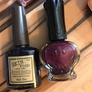 anna sui 指甲油 送skin food