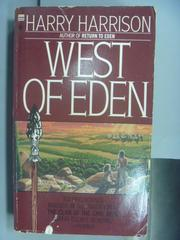 【書寶二手書T9/原文小說_NDZ】West of Eden_Harry Harrison