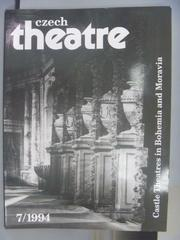 【書寶二手書T1/雜誌期刊_QNG】Theatre_1994/7_Castle Thestres in Bohemia…
