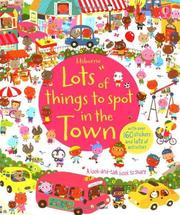 Usborne Lots of things to spot in the town 尋找遊戲貼紙書-城市 *夏日微風*