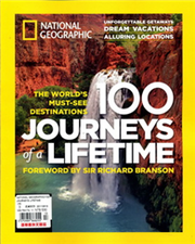 NATIONAL GEOGRAPHIC/100 JOURNEYS LIFETIME