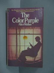 【書寶二手書T1/原文小說_JST】The Color Purple_Alice Walker