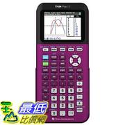 [美國直購] Texas Instruments 彩色 TI-84 Plus CE (7種顏色可選)  Plum Graphing Calculator