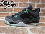 BEETLE PLUS 全新 NIKE AIR JORDAN 4 IV RETRO GREEN GLOW 四代 灰 TIFFANY 綠 夜光 復刻 308497-033