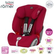 【Britax romer】 Evolva 1-2-3 Plus 旗艦成長型安全座椅 〔紅〕