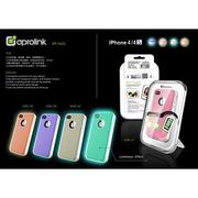 【全新出清】 AproLink APPLE iPhone 4 4S 兩件式雙料夜光外殻