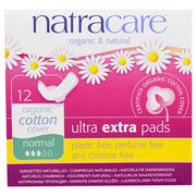 [iHerb] Natracare, Organic & Natural, Ultra Extra Pads, Normal, 12 Pads