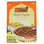 [iHerb] Kitchens of India, Pindi Chana, Chick Peas Curry, Mild, 10 oz (285 g)