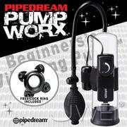 美國進口PIPEDREAM - PUMP WORX系列-激震式真空助勃器-Beginners Vibrating Pump