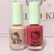 Heme x hello kitty 粉色系列指甲油2入組