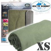 Sea to Summit Drylite Towel XS 抗菌快乾毛巾 ADRYAXSEG 灰綠